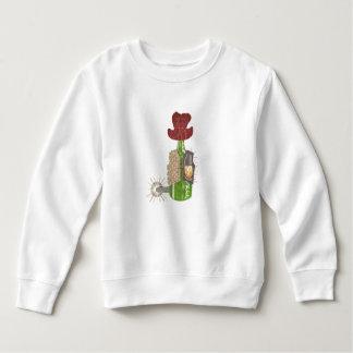 Flaschen-Cowboy-Kleinkind-Pullover Sweatshirt