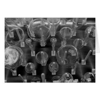 Flaschen-Gestell Grußkarte