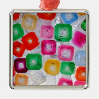 Flaschen Silbernes Ornament