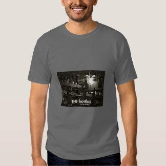 Flaschen-T - Shirt-Männer des Bier-Shirt-99 - Hemd