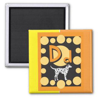 FlashCardD Quadratischer Magnet
