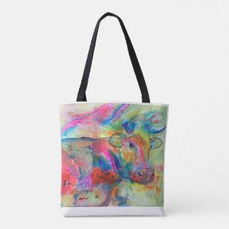 Flashy Kuh-Taschen-Tasche Tasche