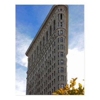 Flatiron Gebäude-Foto in NYC Postkarte