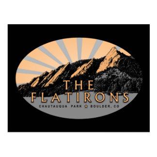 Flatirons Chautauqua Park Boulder Colorado Postkarte