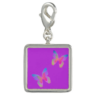 Flattern-Byes (violetter) Charme Charm
