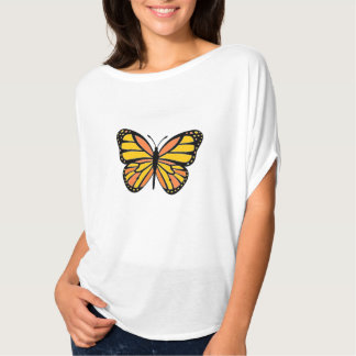 Flatternder Schmetterling T-Shirt