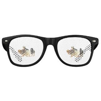 flaumige Küken Partybrille
