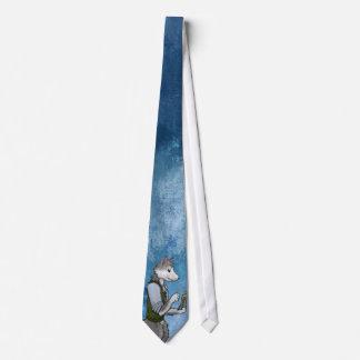 Flaumiger Leser Krawatte