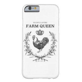 Flaumiger Schicht-Bauernhof-Königin-Telefon-Kasten Barely There iPhone 6 Hülle