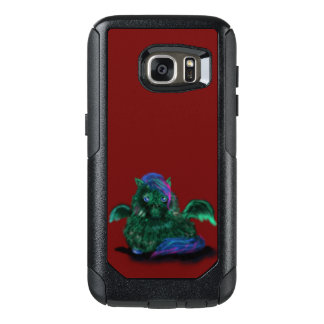 Flaumiges Drache-Pony OtterBox Samsung Galaxy S7 Hülle