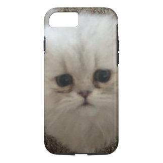 Flaumiges Sasquach, das Kitty mit niedlichem iPhone 7 Hülle