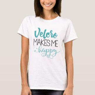 Flausch macht mich glückliches T-Stück T-Shirt