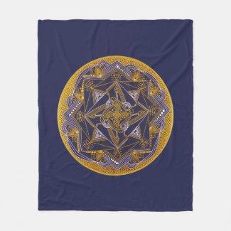 Flauschige Decke, Kraft von TEEAS, 127 x 152,4 cm