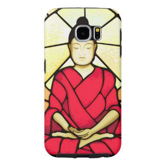 Fleck-Glasfenster Balis Buddha
