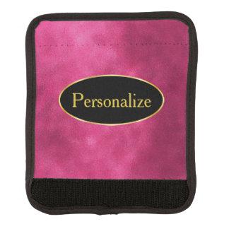 Fleck-Pink mit Schwarzem und Goldaufkleber Gepäckgriff Marker