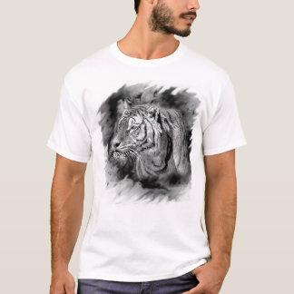 Fleck-Tinten-Tiger T-Shirt