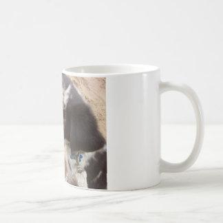 Flecken auf dem Strand Kaffeetasse