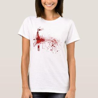 Flecken des Bluts T-Shirt