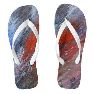 Flecken Flip Flops