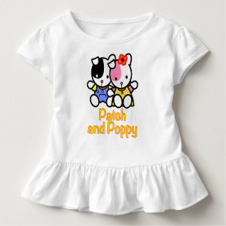 Flecken- und Mohnblumenkleinkindrüschet-stück Kleinkind T-shirt