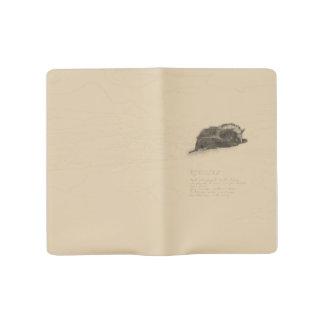 Fledermaus-Notizbuch Großes Moleskine Notizbuch