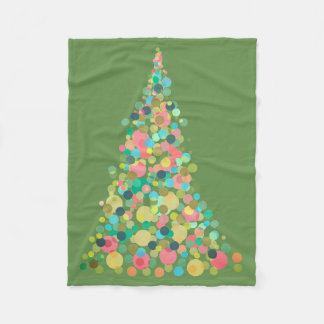 Fleece-Decke, kleiner Feiertagsbaum Fleecedecke