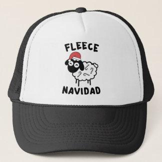 Fleece Navidad Truckerkappe