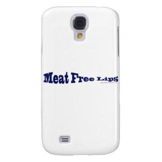 Fleisch-freie Lippen - blaue Fische geformt Galaxy S4 Hülle