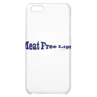 Fleisch-freie Lippen - blaue Fische geformt iPhone 5C Hüllen