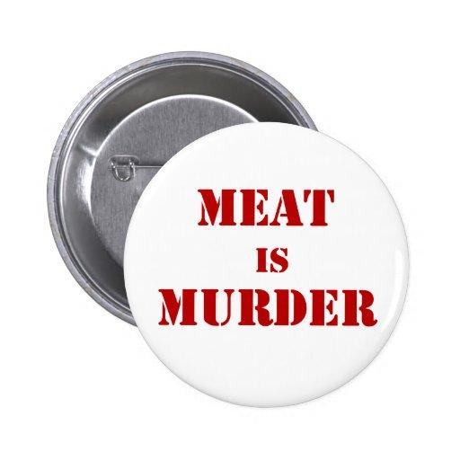 Fleisch ist Mord Button