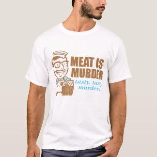 Fleisch ist Mord-… geschmackvoller geschmackvoller T-Shirt