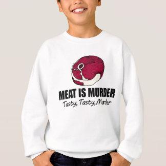Fleisch ist Mord Sweatshirt