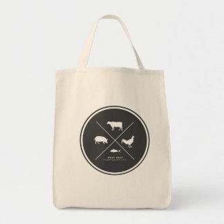 Fleisch-nur Lebensmittelgeschäft-Tasche Einkaufstasche