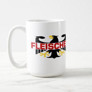 Fleischer Familienname Kaffeetasse