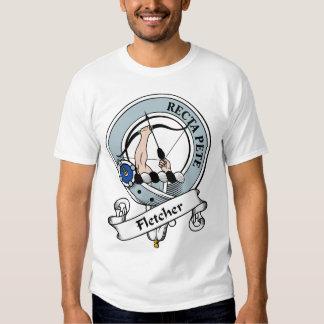 Fletcher Clan-Abzeichen T Shirts