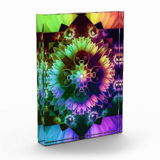 Fleur DES-Entlüftungen, Regenbogen-Fraktal-Blume Auszeichnung