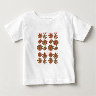 fleur mignonne modèle einzigartiges niedliches baby t-shirt