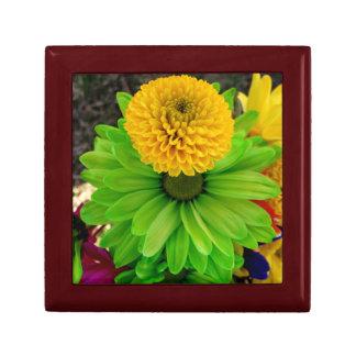 Fleur Verte Andenken-Kasten Kleine Quadratische Schatulle