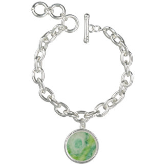 Fleur Verte Charm Armbänder