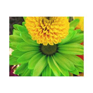 Fleur Verte Leinwanddrucke
