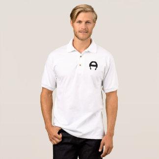 FlexBormarr schwarzes Logo-Polo Polo Shirt