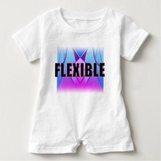 """""""Flexibler"""" blauer rosa Lavendel Baby-Spielanzug Baby Strampler"""