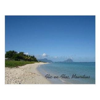Flic-en-Flac, Mauritius Postkarte