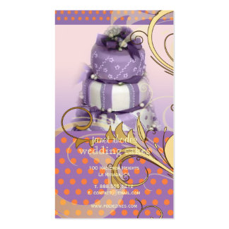 Flieder/Lavendel Visitenkarten