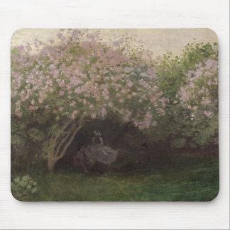 Fliedern Claude Monets  , graues Wetter, 1872 Mauspad