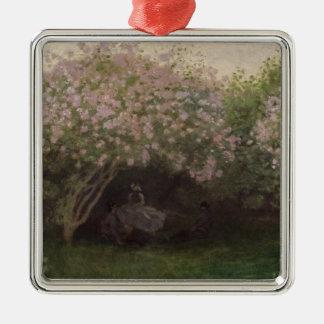 Fliedern Claude Monets |, graues Wetter, 1872 Silbernes Ornament