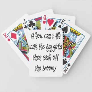 Fliege Bicycle Spielkarten