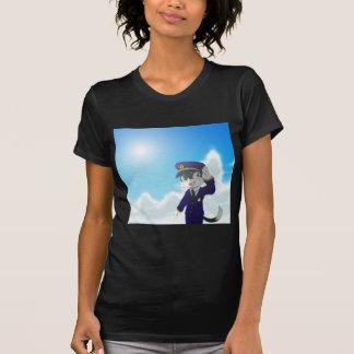 Fliege durch Himmel T-Shirt