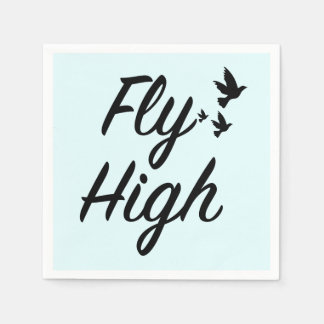 Fliege hoch papierserviette
