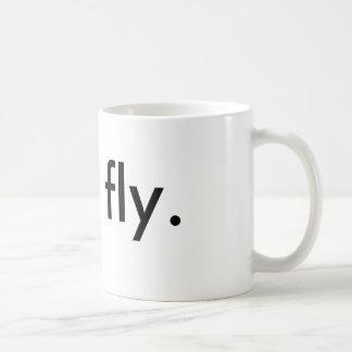 Fliege Kaffeetasse